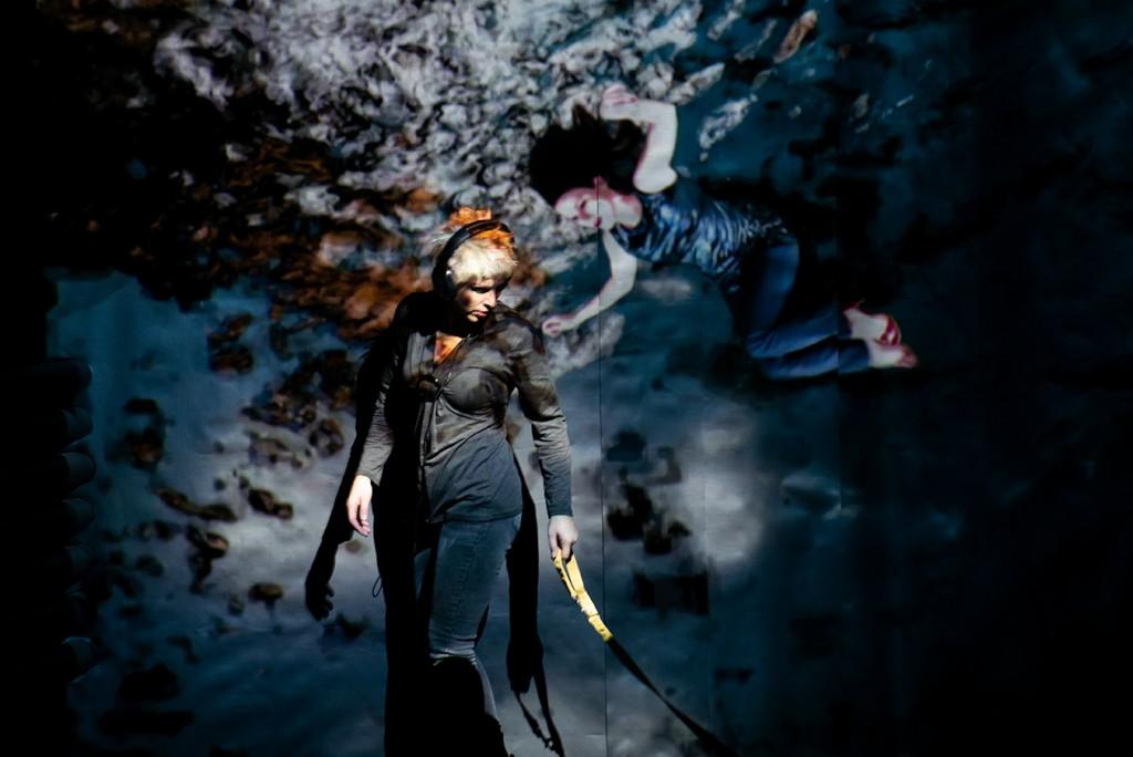 Saumon d Alaska decembre 2018 Creation et mise en scene Evelyne Knecht